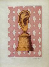 雷尼•马格里特 - 版画 - La Lecon de Musique - Son de Cloche