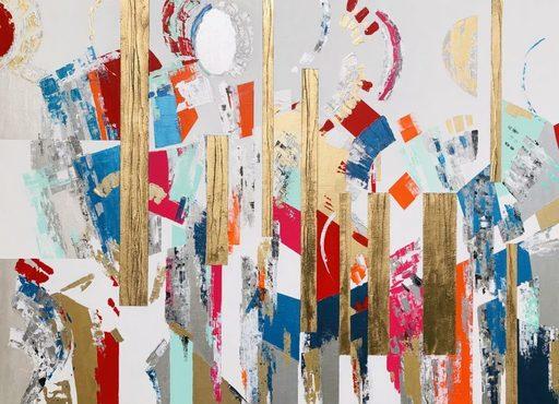 Nadine HARDY - 绘画 - « Présence et Harmonie »