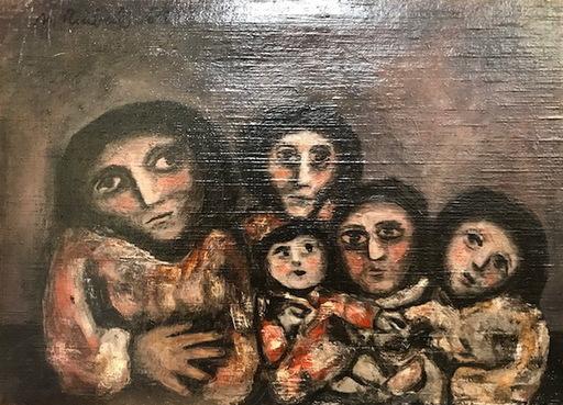Mercedes RUIBAL - Pittura - FAMILIA