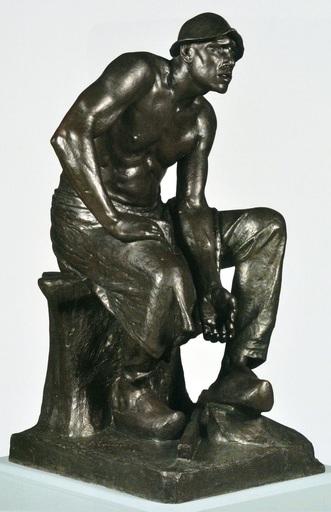 Jef LAMBEAUX - Escultura - Puddleur