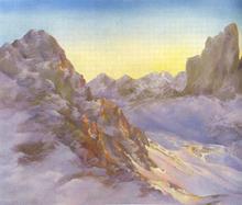 Gian Marco MONTESANO - Pintura - Paternkofel
