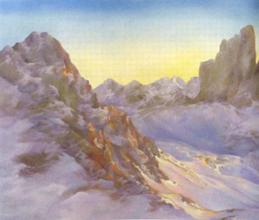 Gian Marco MONTESANO - Peinture - Paternkofel