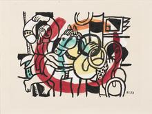 Fernand LÉGER (1881-1955) - Le Jongleur et L'Acrobate
