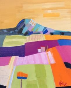 Jean-Pierre MALTESE - Painting - Sous un soleil pudique