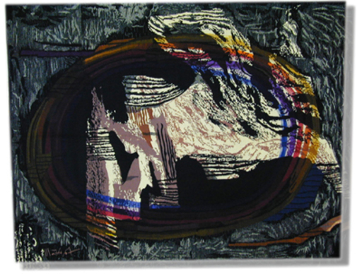 Mathieu MATÉGOT - Tapestry - Remous