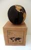 Bruno HELGEN - Sculpture-Volume - Globe Ø30cm Black sand