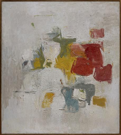 Esteban VICENTE - Painting - Yellow world