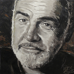 Peter ENGELS - Painting - Sean Connery