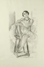 Henri MATISSE (1869-1954) - Danseuse sur un tabouret