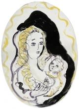 MANÉ-KATZ - Ceramic - Mother and Child