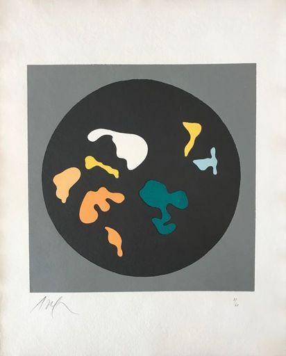 Hans ARP - Print-Multiple - Soleil recerclé