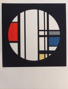 Jean Albert GORIN - Print-Multiple - Sans titre