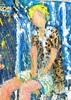 Valerio BETTA - Painting - Giovane modella in posa per book