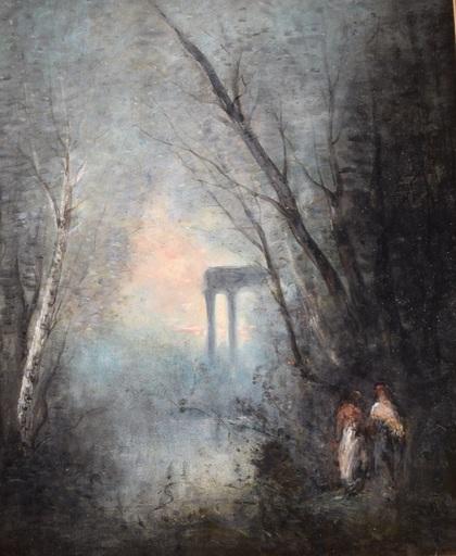 Camille Jean-Baptiste COROT - Peinture - The Orphean