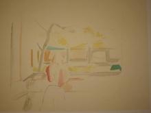 BALTHUS - Estampe-Multiple - Jeune fille à la fenêtre,1992.