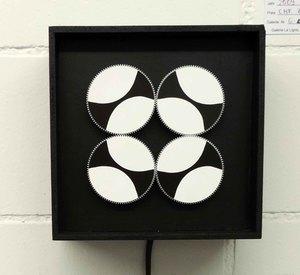 Roger VILDER - Skulptur Volumen - 4K Noir et Blanc