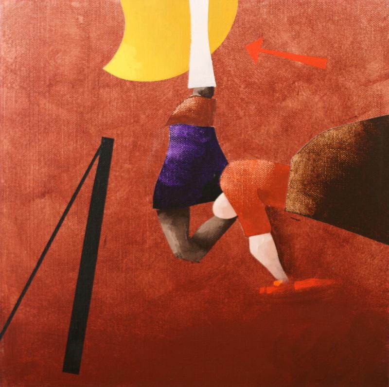 Emilio TADINI - Gemälde - FIABA