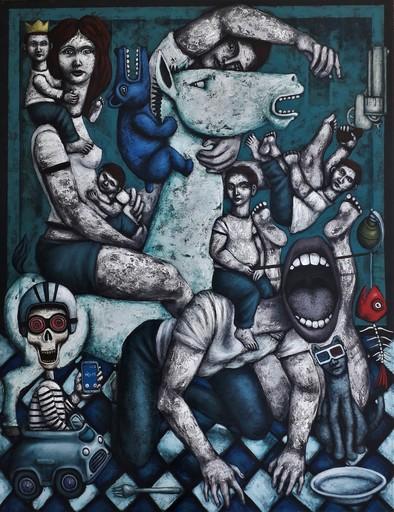 Nicolas MONJO - Pittura - Les conquérants