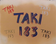 TAKI 183 - Peinture