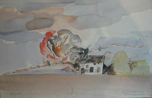 Giuliano RUFFINI - Peinture - Composizione, 1969