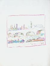 MARKO - Dibujo Acuarela - Berges de la Seine