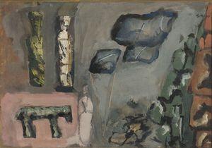 Mario SIRONI - Painting - Studio