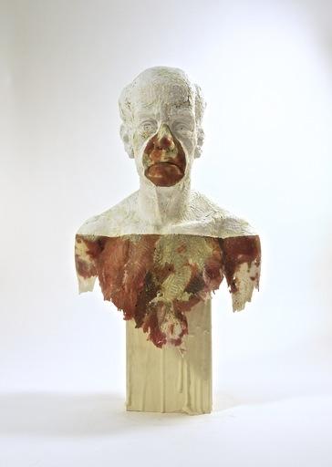 Nicholas CROMBACH - Sculpture-Volume - Granite