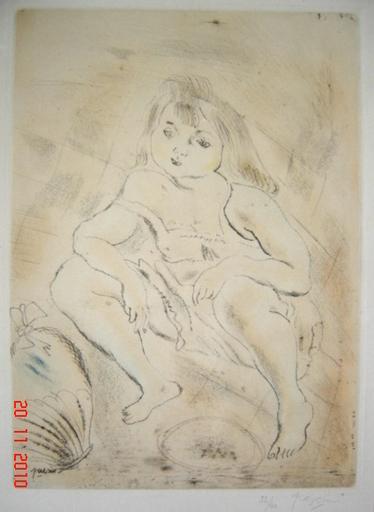 Jules PASCIN - Print-Multiple - CENDRILLON