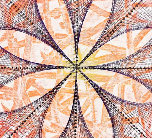 Sumit MEHNDIRATTA - Sculpture-Volume - Nailed it series No.59