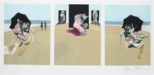 Francis BACON - Estampe-Multiple - Metropolitan Triptych