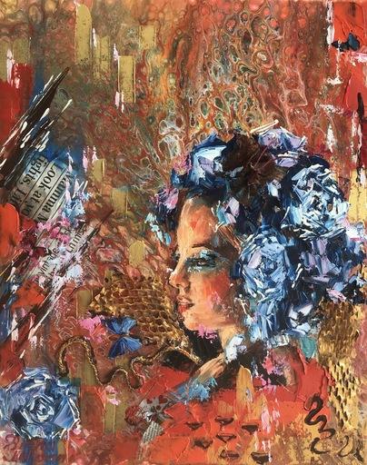 Diana MALIVANI - Pittura - Lily