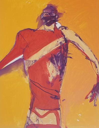 Fritz William SCHOLDER - 版画 - Action Shaman State II