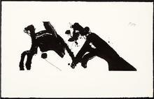 Robert MOTHERWELL - Estampe-Multiple - Dance I