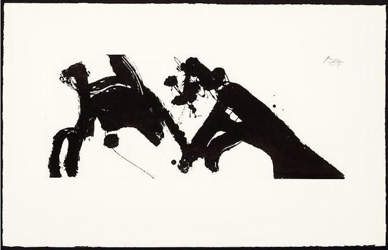 Robert MOTHERWELL - Print-Multiple - Dance I