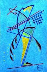 Mikhail LARIONOV - Drawing-Watercolor - Etude rayonniste pour un danseur en mouvement
