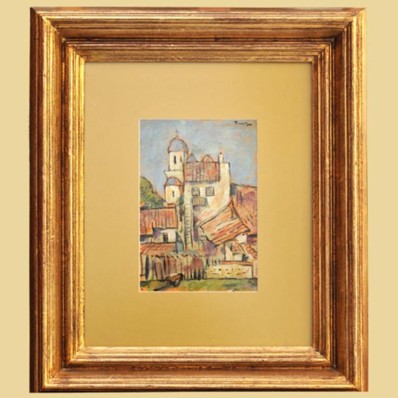 Nicolae TONITZA - Painting - BRUTARIA NOUA DIN MANGALIA