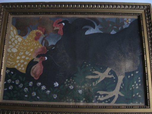 Georges MANZANA-PISSARRO - Pintura - POULES