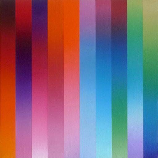 Catherine GUINOT - Painting - « Miroitements #04 »
