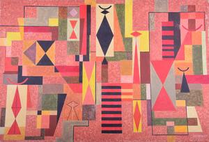 Mario CARREÑO - Peinture - Untitled (Abstract)