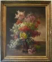 Edmond VAN COPPENOLLE - Peinture - Bouquet