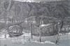 William RÖTHLISBERGER - Dibujo Acuarela - Bissone  lac de Lugano Tessin