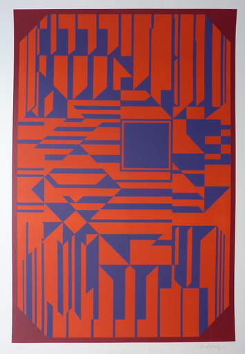 Victor VASARELY - Print-Multiple - Untitled