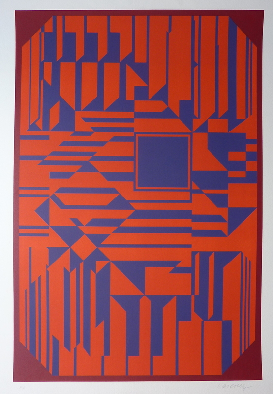 Victor VASARELY - Estampe-Multiple - Untitled