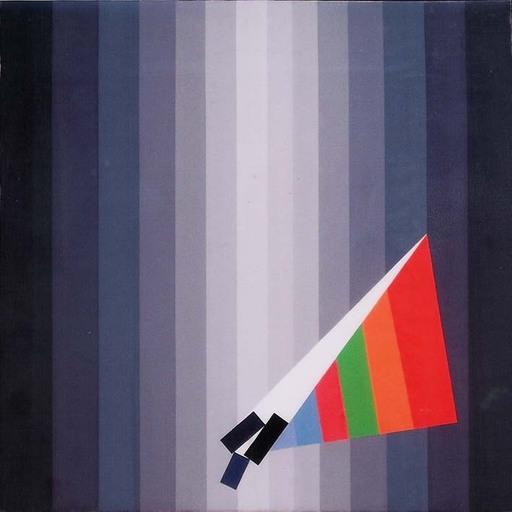 Eugenio CARMI - Peinture - Triangolo ribelle 2