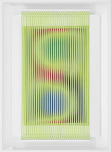 Alberto BIASI - Peinture - Si muove in giallo