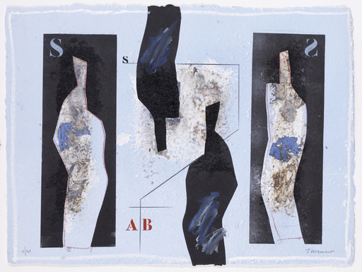 James COIGNARD - Grabado - Inversé en AB