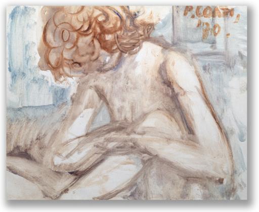 Primo CONTI - Gemälde