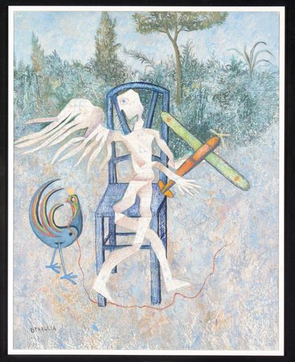 Enrico BENAGLIA - Peinture - I cuochi di Icaro