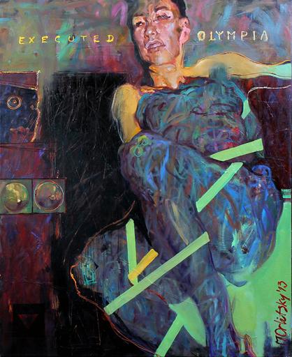 Maxim ORLITSKIY - Peinture - Executed Olympia
