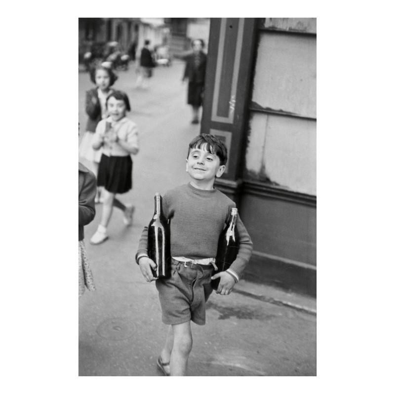 Henri CARTIER-BRESSON - Photography - RUE MOUFETTARD PARIS